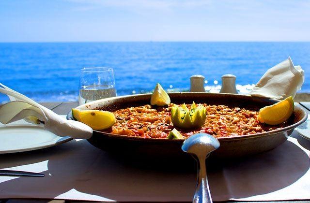 A paella in Spain