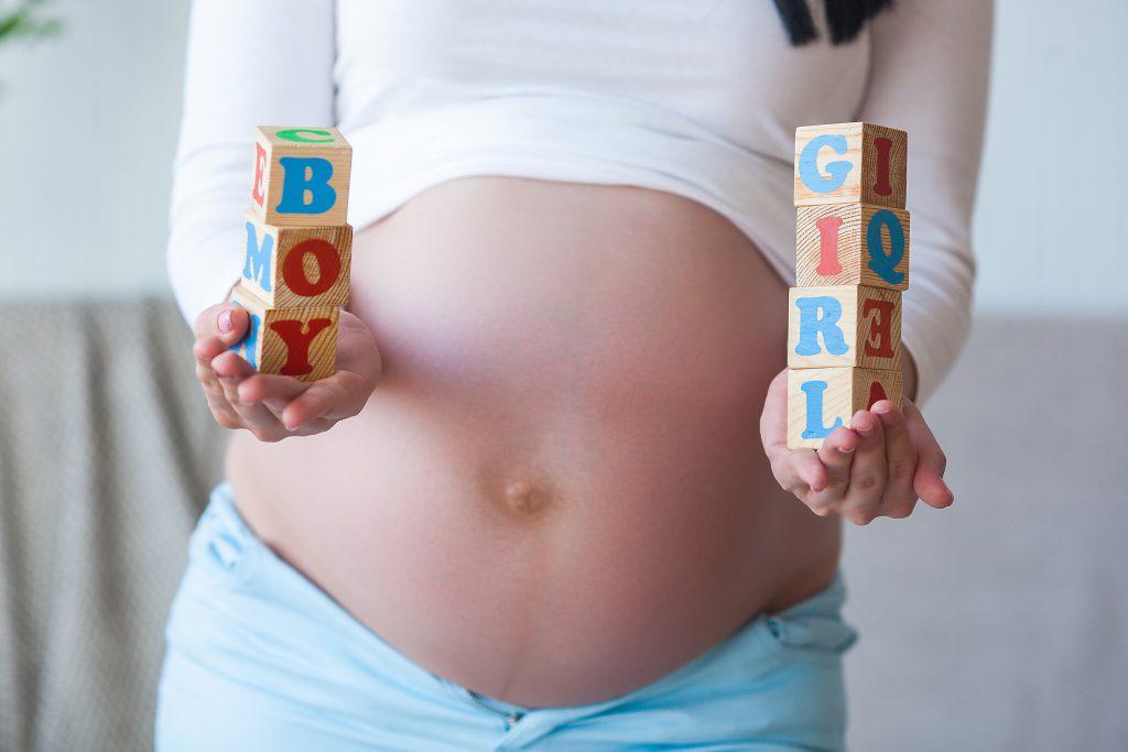 Elección de sexo del bebé - Cubos